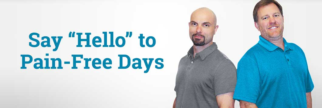 "Say ""Hello"" to Pain-Free Days"